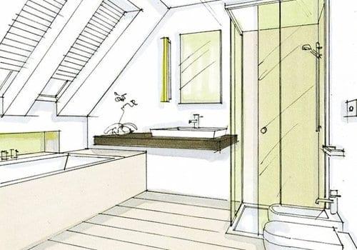Zelf badkamer ontwerpen badkamer indelen for Grondplan badkamer