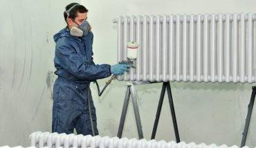 Radiator schilderen