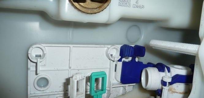 Toilet repareren
