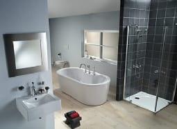 Badkamer verbouwen mijnkluswijzer for Fotos wc hangen tegel