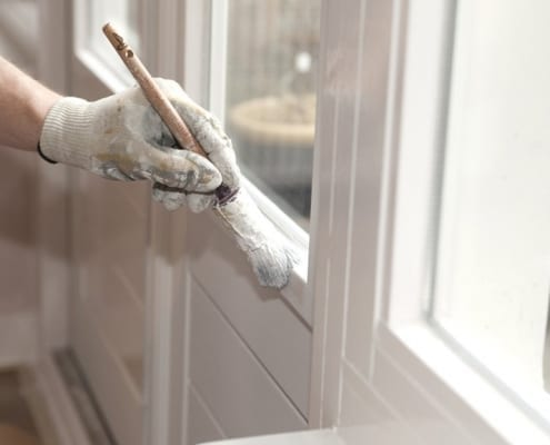 deur schilderen