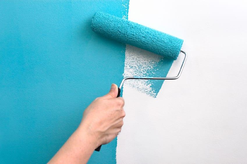 Tips Badkamer Schilderen : Muur verven muur schilderen mijnkluswijzer