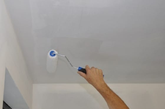 Badkamer Plafond Latex : Plafond schilderen mijnkluswijzer