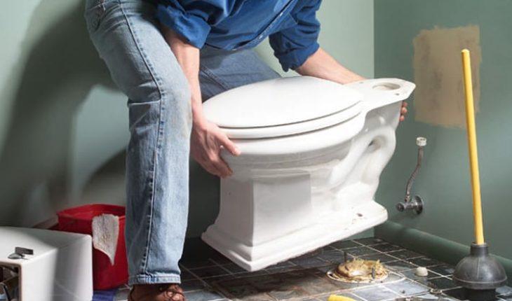 Staande Wc Pot Vastzetten.Toilet Plaatsen Wc Plaatsen Wc Pot Vervangen