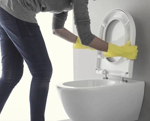 toiletzitting plaatsen