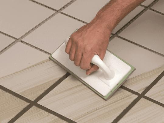 Zelf voegen tegels