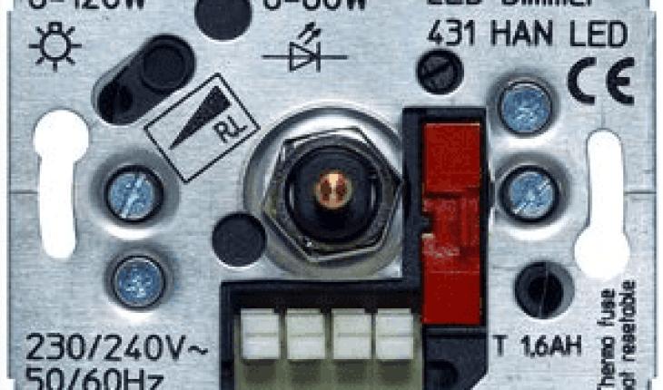 Verrassend LED Dimmer Afstellen | Dimmer Aansluiten - MijnKluswijzer.nl GF-58