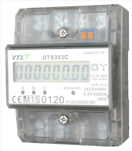 kWh-meter aansluiten