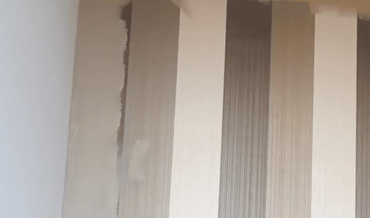 Stucen Over Glasvezelbehang.Verven Over Behang Mijnkluswijzer Nl