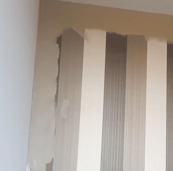 behang overschilderen