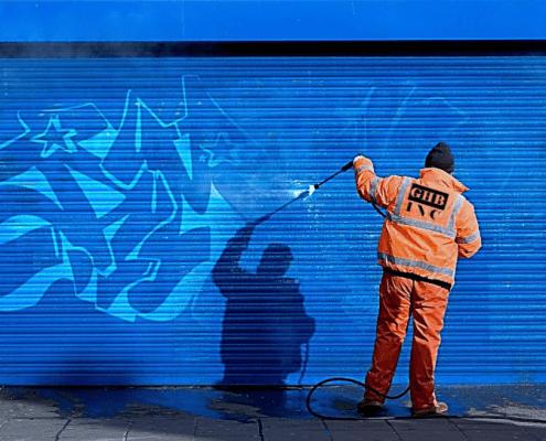 Zelf Graffiti Verwijderen