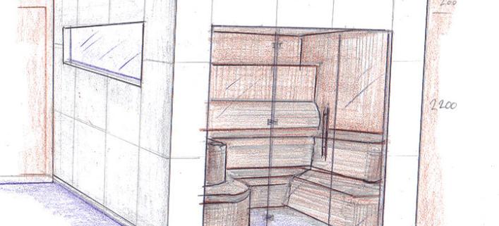 zelf sauna bouwen