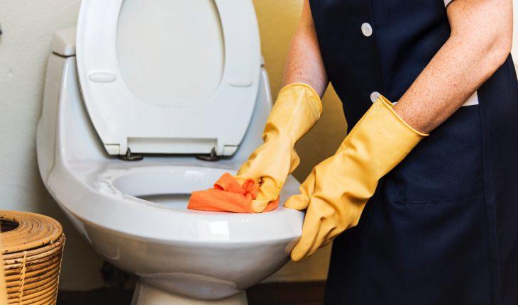 Korte Hang Wc.Spoelmechanisme Toilet Repareren Wc Repareren