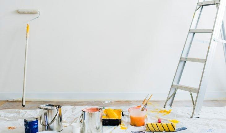 Muren Afplakken Schilderen.Structuurverf Aanbrengen 5 Voorbeelden Mijnkluswijzer Nl