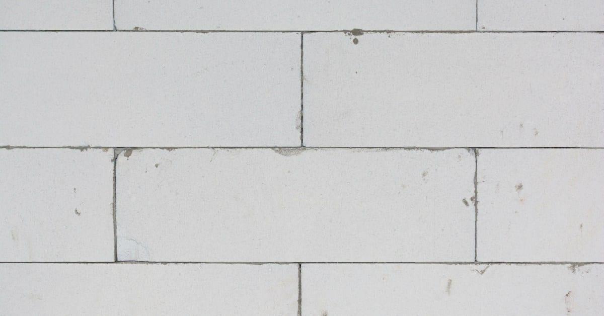 Gipsblokken-muur-halfsteensverband