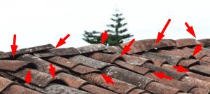 lekkage van het dak repareren